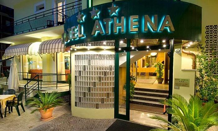 Hotel Athena - Hotel Athena: Riviera Adriatica, Hotel Athena - Fino a 7 notti sul mare di Gabicce in pensione completa da 44 € per 2 persone