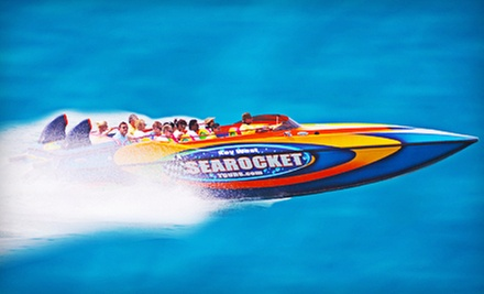 $24 for Speedboat Tour of Key West from Sea Rocket Tours ($49 Value)