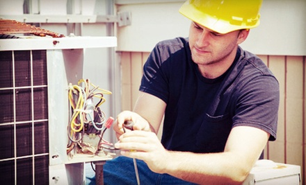 HVAC Service with AC Tune-Up from Freedom Heating and Cooling (Up to 87% Off). Three Options Available.