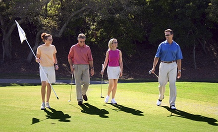 9- or 18-Hole Round of Golf for Two or Four with Lunch at Mt. Freedom Golf (Up to 62% Off)