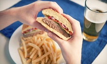 Burger with Fries and Drinks for Two or Four at Captain's on Long Lake (Up to 51% Off)