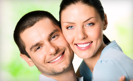 In-Office Teeth Whitening for One with Optional Teeth Desensiting, or for Two at DaVinci Teeth Whitening (Up to 70% Off)