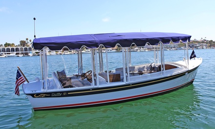 $99 for a Two-Hour Electric-Boat Rental for Up to 8 - 10 from Vantage Yacht Club ($300 Value)