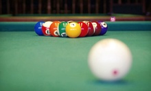 Two Hours of Pool with Drinks and Pizza for Two or Four at Bison Billiards (Up to 57% Off)