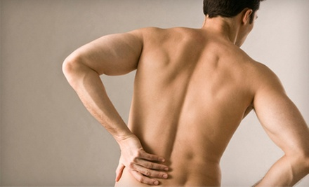 $59 for a Chiropractic Exam with Consultation, X-rays, and Massage at Dr. J. Scranton, Chiropractor ($205 Value)