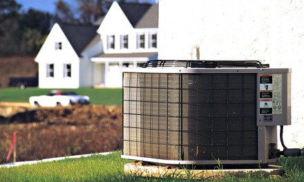 A/C Tune-Up and Inspection or Installation of Germicidal Light System and Year of Service from Pure Air (Up to 59% Off)