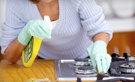 $45 for a Kitchen Deep Cleaning and $1 Charitable Donation from Clean It ($90 Value)