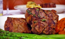 Regular or Steak Brunch for Two or Steak-House Dinner for Two at Izzys Steaks &amp; Chops (Up to 52% Off)