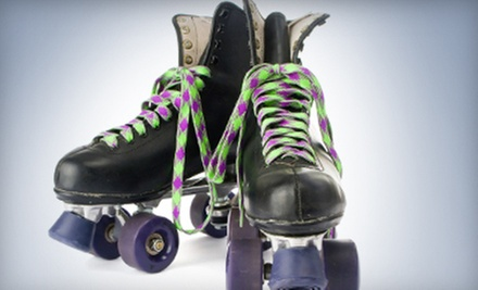 Roller Skating for Two, Four, or Six at Lynwood Roller Rink (Up to 52% Off). Six Options Available.