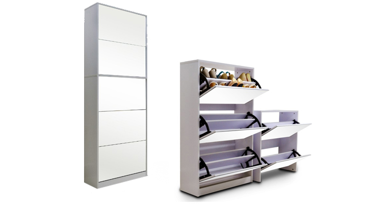 armoire chaussures groupon. Black Bedroom Furniture Sets. Home Design Ideas