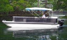 $119 for an Eight-Hour Pontoon-Boat Rental for Up to Eight from Belle Harbour Boat Rentals ($250 Value)