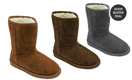 Dawgs 9-Inch Microfiber SheepDawgs Women's Boots. Multiple Options Available. Free Returns.