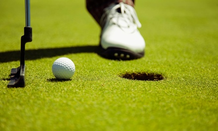 Round of Golf with Tacos and Range Balls for Two or Four, or Lesson Package at Pico Rivera Golf Course (75% Off)