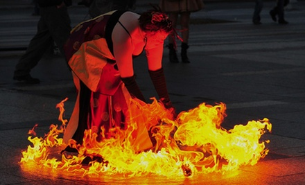Intro to Fire Dancing Class for One, Two, or Four at Temple of Poi (Up to 54% Off)
