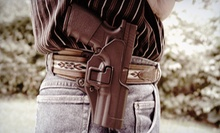 $79 for Eight-Hour Concealed-Pistol Class at Homestead Training ($160 Value)
