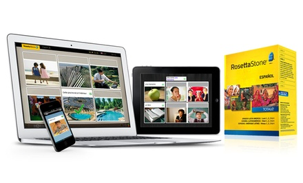 Rosetta Stone Level 1 or Level 1–4; English, French, Italian, or Spanish from $99.99–$189.99