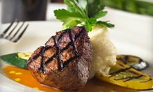 Steak-House Food for Two or Four at Warren Duck Club (Half Off)