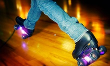Roller Skating for Two or Four with Pizza and Soda or Party for Up to Eight at Pattison's West (Up to 56% Off)
