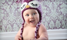 Progressive Baby Photo Package or a Family Photo Package at Divine Portrait Boutique (Up to 89% Off)