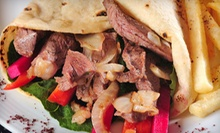 $10 for Four Visits for Middle Eastern Food at Taboon Bites ($20 Value)