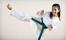 One- or Two-Month Kids' Membership with Two Classes a Week and a Uniform at Universal Karate Studios (Up to 68% Off)
