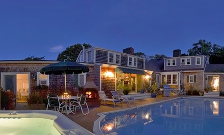 groupon daily deal - 2-Night Stay for Two with a Welcome Basket and Daily Breakfast at the Pet-Friendly Lamb and Lion Inn in Cape Cod, MA