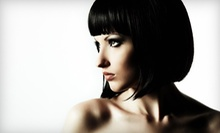 Haircut with Gloss, Highlights, or Two Shampoos with Styles at Vanity Lounge Beauty Boutique (Up to 56% Off)