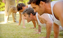 6 or 12 Boot-Camp Classes at A Better U Fitness Gym (Up to 73% Off)