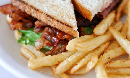 Dine-In Pub Food for Two or Four or Take-Out from Fiddlers Green Pub (Up to 48% Off)