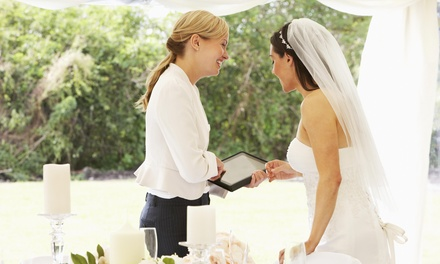 Two Wedding Planning Consultations at Muse Events (45% Off)