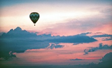 $147 for a Semiprivate Hot Air Balloon Ride for One with Champagne Toast from Stillwater Balloon ($245 Value)