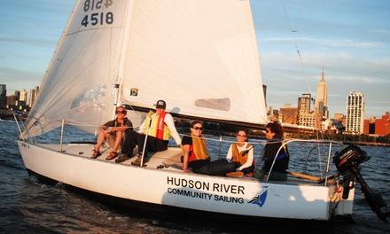 Sunday Breakfast Trip for One or Two from Hudson River Community Sailing (Up to 48% Off)