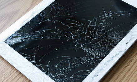 Screen Repair for an iPhone 5, iPads, or Samsung Products at Cellmall (Up to 55% Off). Four Options Available.