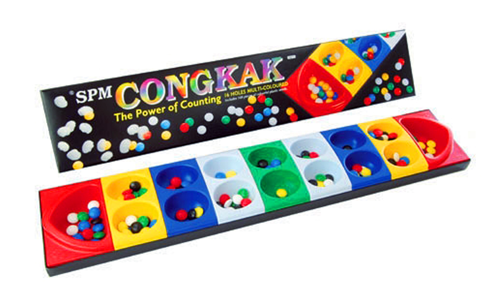 Congkak OR Carrom Board Game