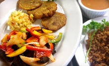 American and Haitian Cuisine at Haitian & American Restaurant (Half Off). Two Options Available.