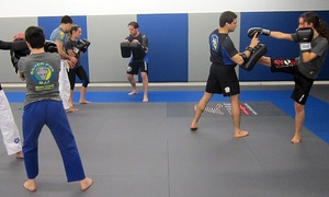 Five  Brazilian Jiu Jitsu Or Mma Kickboxing Classes With Gear At Silver Fox Brazilian Jiu-jitsu (up To 77% Off)