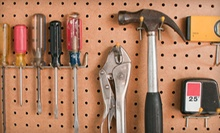 Tools, Hardware, and Appliances at Feinsod Hardware (Half Off). Three Options Available.