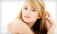 Haircut with Single-Process Color or Partial or Full Highlights at Fa-El Salon (Up to 63% Off)