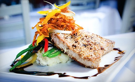 American-European Cuisine for Lunch for Two or Prix Fixe Dinner for Two or Four at CoolWater Fusion (Up to 59% Off)