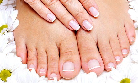One or Two Mani-Pedis at Nails by Brianna ( 53% Off)