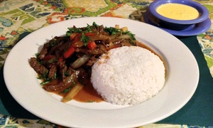 Peruvian Lunch Or Dinner For Two Or Four At Fiesta Atlantic Restaurant (up To 54% Off)