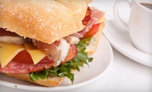 Sandwiches and Coffee for Two or Four at Nitecap Coffee Bar (53% Off)