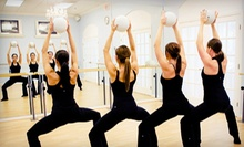 5 or 10 Barre Fitness Classes at Xtend Barre Provo (Up to 71% Off)