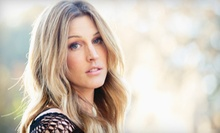 Haircut Package with Style and Optional Partial Highlights at Exquisite Salon & Spa (Up to 81% Off)