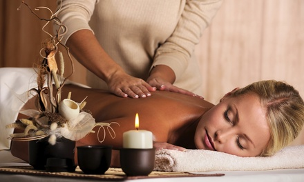 Aromatherapy and Deep-Tissue Massage or Couples Massage from Shannon at White Raven Spa Company (Up to 44% Off)