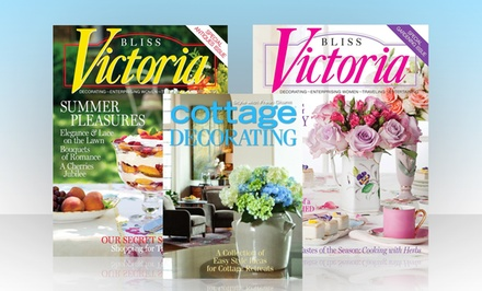 1-Year Subscription to Victoria Magazine and 1 Issue of Cottage Decorating