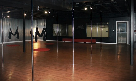 One Intro to Pole-Fitness Class or One Flirty Fun Pole Dancing Party at Modern Day Fitness (Up to 60% Off)