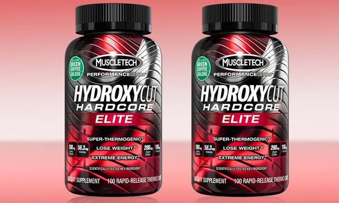 Buy 1 Get 1 Free Hydroxycut Hardcore Elite Series Deal of