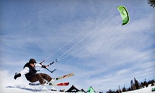 One Introductory or Level 1 Snowkite Lesson with Utah Snowkite Center (Up to 54% Off)