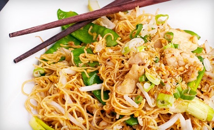 Thai Cuisine for Dinner or Lunch at The Queen and I Restaurant (Up to 52% Off)